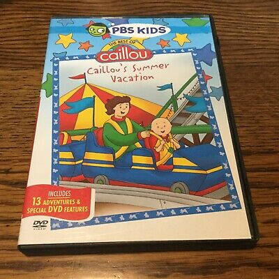 Pbs Kids Halloween Dvd.Pbs Kids Caillou Caillou S Halloween Dvd 4 99 Picclick