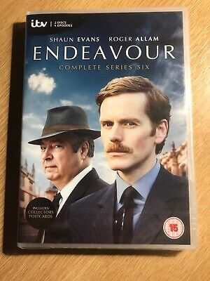 Endeavour Complete Series 6 - DVD NEW & SEALED (2 Discs) Shaun Evans