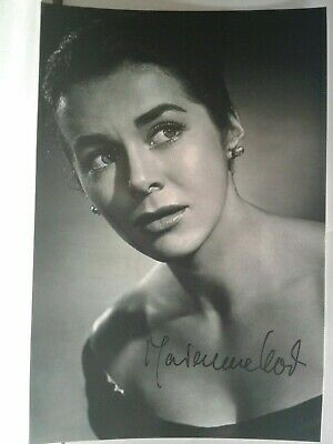 MARIANNE KOCH Authentic Hand Autograph Signed 4X6 Photo - BEAUTIFUL ACTRESS