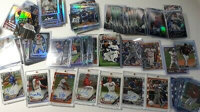 2019 Topps Bowman Inserts, Parallel & Autograph You Pick UPick From List Lot