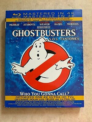 Ghostbusters (Blu-ray Disc, 2013, Canadian)