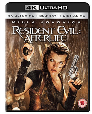 Resident Evil: Afterlife 2 Disc Bd & Uhd Blu-Ray Nuevo