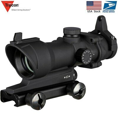 🇺🇸 🔥 Acog 1x32 Green Red Dot Sight Tactical Shooting Hunting Scope Riflescope