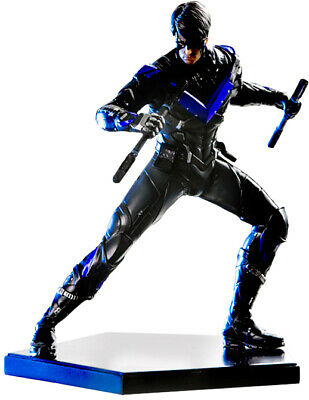 BATMAN: Arkham Knight - Nightwing 1/10th Art Scale Statue (Iron Studios) #NEW