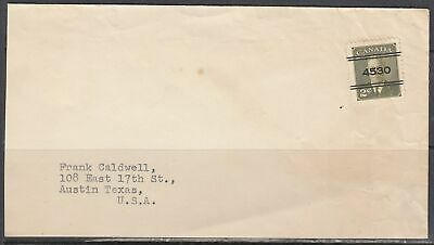 Canada Scott 285xx - Toronto, ON Bulk Rate Cover to States