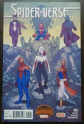 Spider-Verse #5 First Print Marvel Comics (2015) Spider-Man Gwen Ham Silk