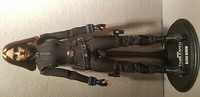 "Hot Toys Avengers Avenger Head Winter Soldier Black WIdow 1:6 12"" Action FigureB"
