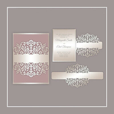 DIY Lace Flowers Metal Cutting Dies Stencil Scrapbooking Album Card Making Decor