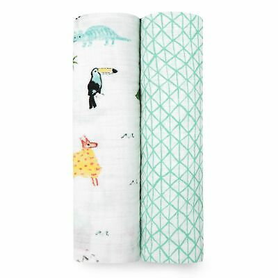 Aden + Anais Around the World 2-Pack classic swaddles