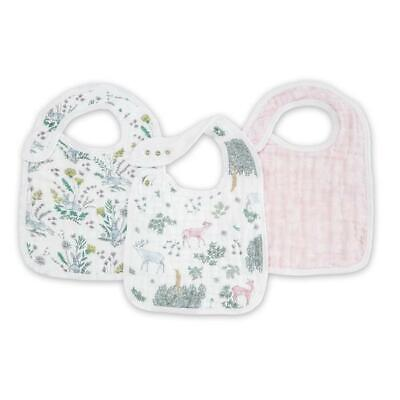 Aden + Anais Forest Fantasy Classic Snap Bibs 3-Pack