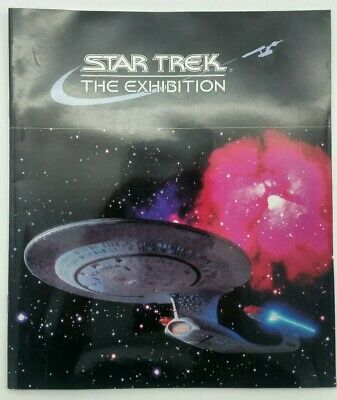 Star Trek The Exhibition Edinburgh Programme (first exhibition outside the USA)
