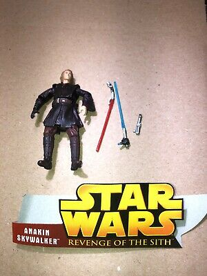 Star Wars Revenge of the Sith Anakin Skywalker #2 Lightsaber Attack