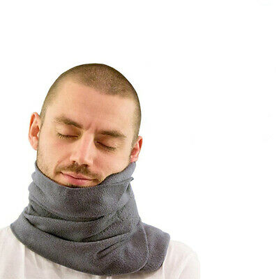 Soft Neck Support Flight Sleep Headrest Nap Scarf Portable Travel Pillow -Permit