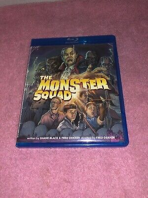 The Monster Squad (Blu-ray Disc, 2013) Rare Out Of Print Oop Dvd