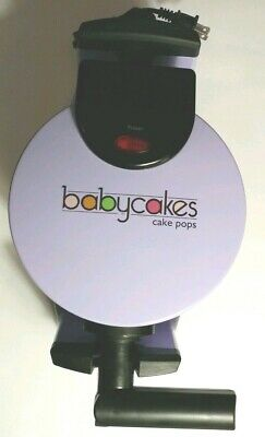 Babycakes Flip-Over Cake Pop Maker Lavendar - no box or accessories AWESOME FUN!