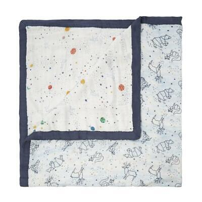 white label: stargaze - stellar silky soft bamboo muslin dream blanket