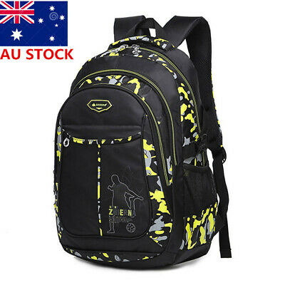 AU Children Backpack Kids Travel Teenager School Bookbag Boys Girls Rucksack Bag