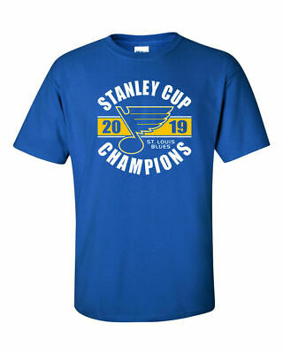 St. Louis Blues 2019 Stanley Cup Champions Royal T-Shirt - S-5XL FREE SHIPPING