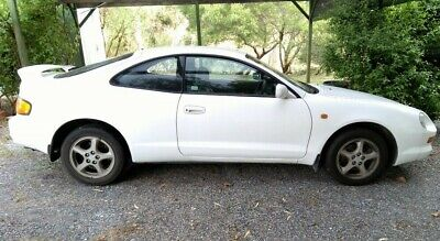 Toyota Celica ZR White Automatic1994 Coupe (2 doors)  Leather Seats 237.000 km