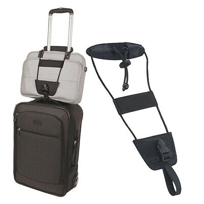 Add A Bag Strap Luggage Suitcase Portable Adjustable Belt Carry-on Bungee Trave