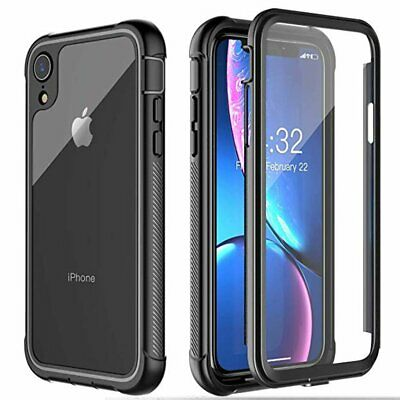 For Apple iPhone XS Max XR X 7 8 Plus Full-Body Drop Proof Shockproof Case Cover