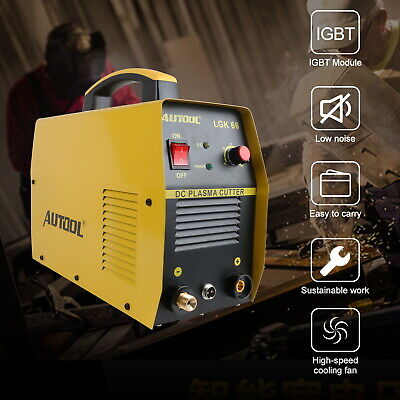 Autool DC Plasma Cutter LGK-66 CUT-66 Digital Inverter Cutting Machine 220V