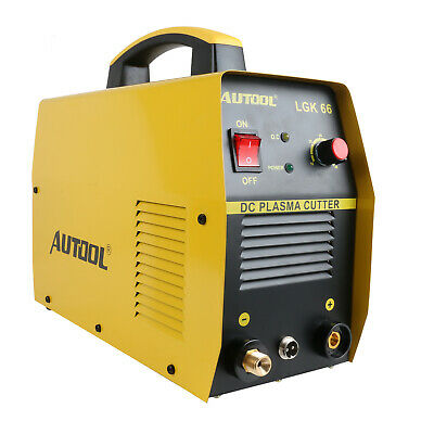 Autool 110V DC Plasma Cutter LGK-66 CUT-66 Digital Inverter Cutting Machine