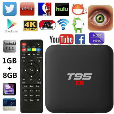 SUPERPOW T95ZMAX ANDROID 7 1 TV Box Amlogic S912 Octa-core