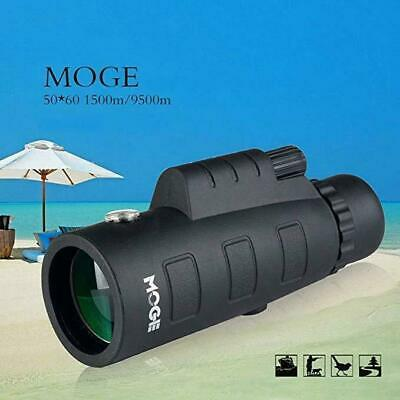 50X60 HD Optical Monocular Telescope Zoom Lens& Tripod + Phone Support Portable