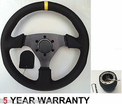 Leather Steering Wheel And Boss Kit Hub Land Rover Discovery 29 Spline