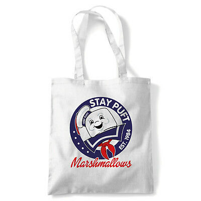 Stay Puft Movie Inspired Funny Tote - Reusable Shopping Canvas Bag Gift