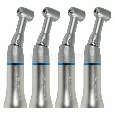 4X External Water Spray Dental Low Speed Contra Angle Handpiece Press NSK Style