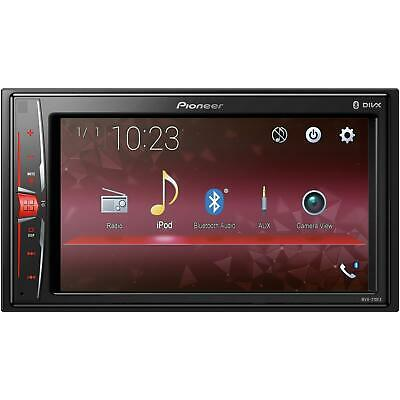 "Pioneer MVH-210EX 6.2"" Double DIN In-Dash Car Stereo Multimedia A/V Receiver"