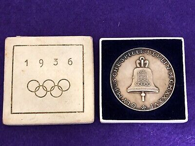 Olympic Germany, Third Reich - Silver Medal 1936