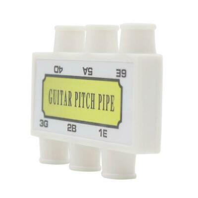Pitch Pipe Tuner Acoustic Guitar String Tuning Plastic Lauren Guitar Pitch L3F7