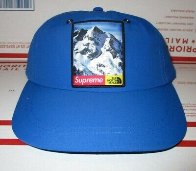 a3fe8b2b Supreme TNF The North Face MOUNTAIN Patch Box Logo Nylon Hat Cap Skateboard  Noah
