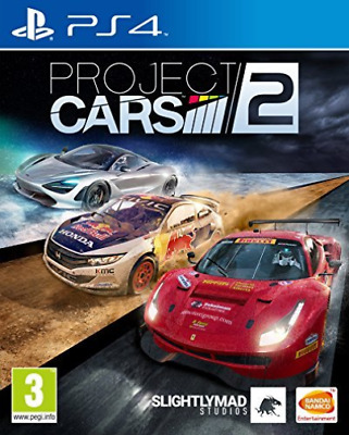 PS4-Project Cars 2 /PS4 GAME NUOVO