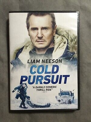Cold Pursuit DVD 2019-Action/Thriller-Stars Liam Neeson New