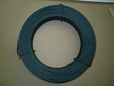 Garden Line Wire - Green PVC Coated Fencing Line Wire 52mtrs (3.8 over 2.5 Wire)