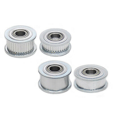 GT2 Idler Timing Pulley Bearing 16T-60T 3-15mm Bore for 6/11mm Width Timing Belt