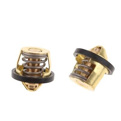 2X Motorcycle Engine Coolant Thermostat for Honda CH250 CF250 CH/CF 250cc