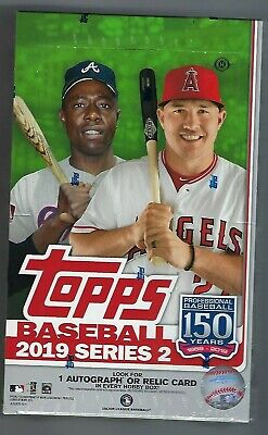 2019 Topps Series 2 Sealed Hobby Box  + 1 Silver Pack