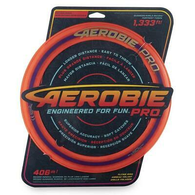 "Aerobie 13"" Pro Ring Flying Disc Outdoor Frisbee Toy Game Orange"