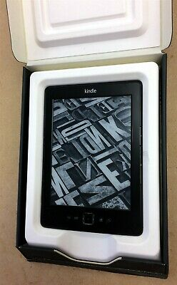 AMAZON KINDLE 4 - 2012 - D01100 Wi-Fi eReader, up to 1,400 books - 23-000467-01