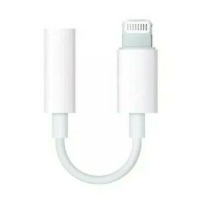 Apple iPhone Headphone Adapter Jack Lightning to 3.5mm Cord Dongle