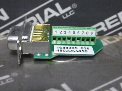 USED Parker 9773521_01 9-Pin Adapter
