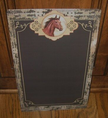 HORSE Chalkboard/Message Board Sign*Primitive Farmhouse/French Country Decor