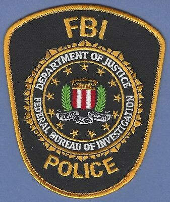 Fbi Federal Bureau Of Investigation Headquarters Police Patch