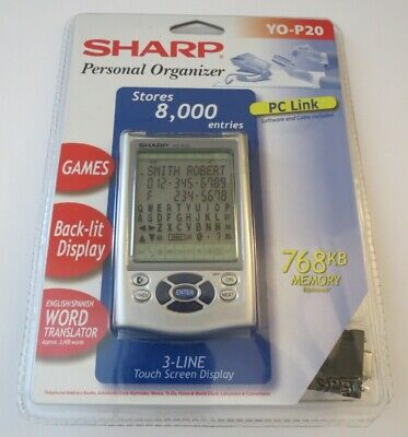 ENGLISH/SPANISH WORD TRANSLATOR<YO-290P by Sharp<Personal organizer