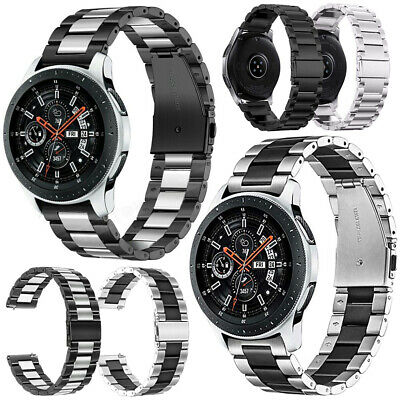 Stainless Steel Band Strap For Huawei Watch GT Samsung S3 46mm Amazfit 2S Garmin